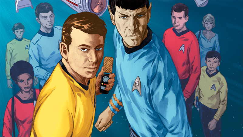 Illustration for article titled The Original Star Trek Universe Returns in IDW's New Comic Anthology