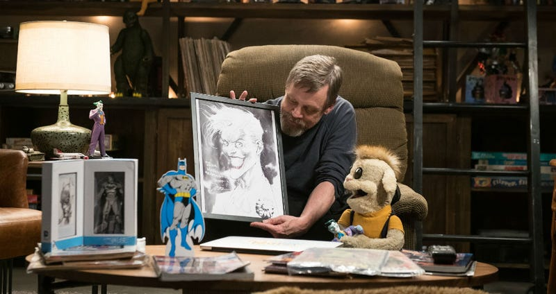 Illustration for article titled Mark Hamill Is So Obsessed With Collecting He Made an Entire Show About It