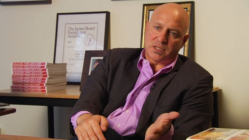 Illustration for article titled Tom Colicchio on solving the hunger problem in America