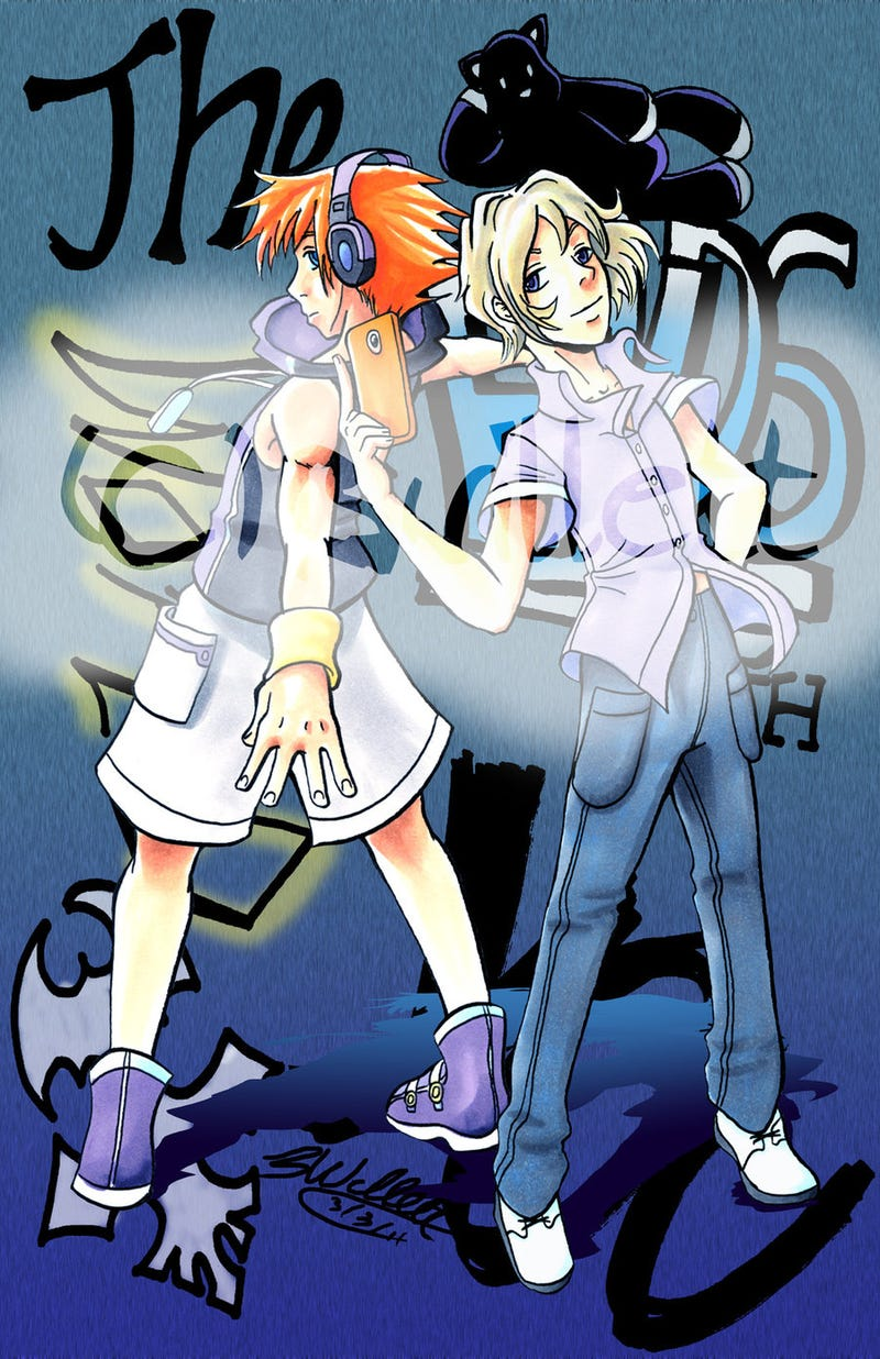 Illustration for article titled Last Gen Heroes: The World Ends with You
