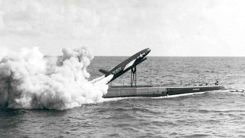 Illustration for article titled El día que el servicio postal de Estados Unidos probó a enviar correspondencia mediante un misil nuclear