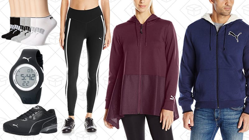 Up to 50% off PUMA shoes, clothing, and more