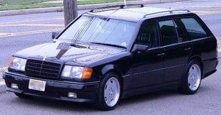 Illustration for article titled Please, No MC Hammer Jokes: 1988 AMG 300TE Wagon!