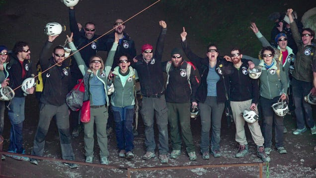 People Emerge From Cave After Intense 40-Day  Deep Time  Experiment