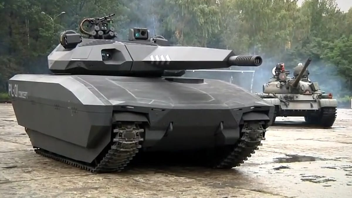 Is Polands Stealthy PL 01 The Tank Of Future