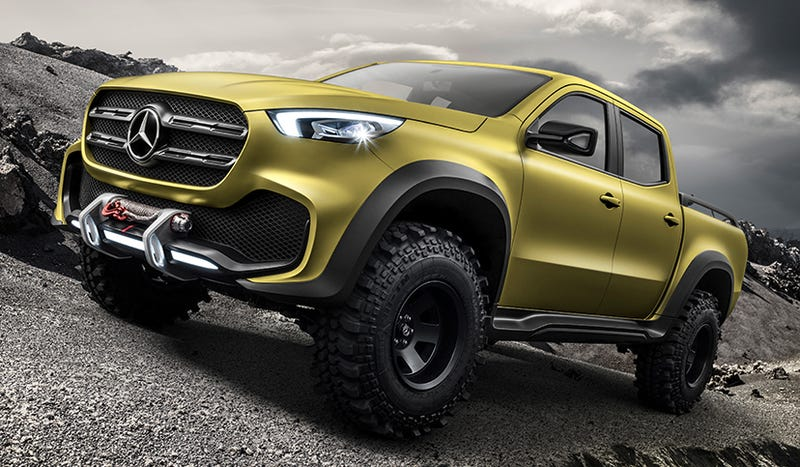 Why Everyone S Going Nuts Over The Mercedes Pickup Truck