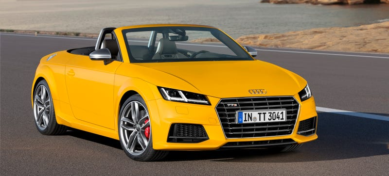 Illustration for article titled The 2015 Audi TT And TTS Roadster: These Are Them