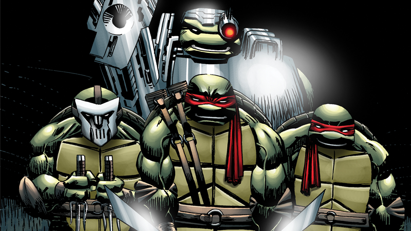 Image: IDW. TMNT: Urban Legends #1 cover art by Frank Fosco.
