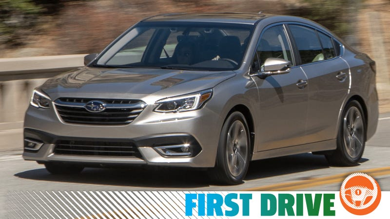 The 2020 Subaru Legacy Mostly Nails It As Long As You Get