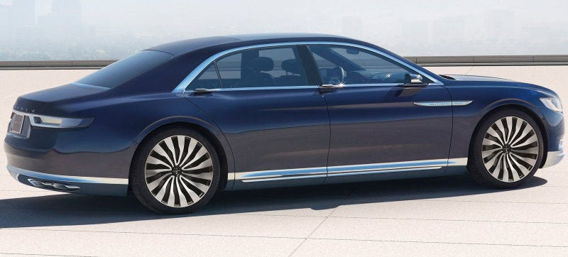 The Lincoln Continental Was Meant To Be A Rejuvenation Of Brand Return Style And Proper Substance I Ll Withhold Judgment