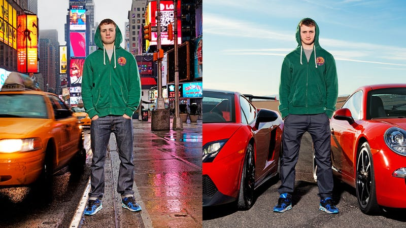 Illustration for article titled Will A Lamborghini Convince This Bro To Drive?