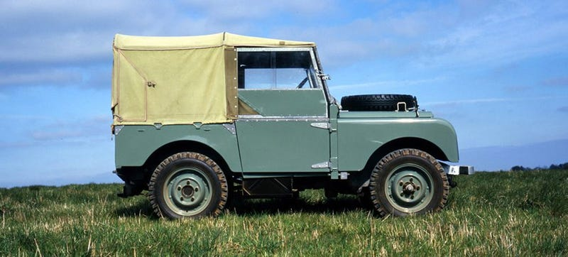 Illustration for article titled The Original Land Rover Debuted Today In History, 1948