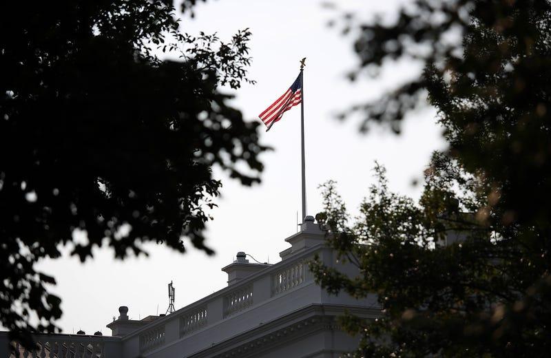 The American flag at the White House flies at full staff August 27, 2018 in Washington, DC. Sen. John McCain (R-AZ), a decorated American war hero and U.S. senator, died August 25, 2018.