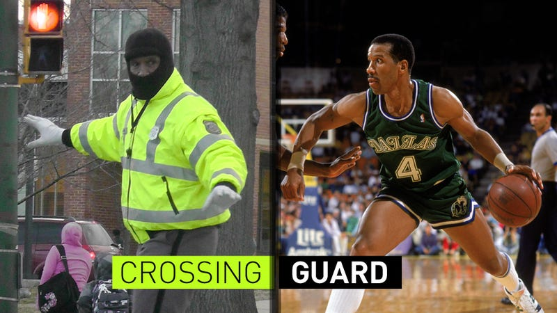 Illustration for article titled Why Is One Of The NBA's All-Time Greatest Scorers Working As A Crossing Guard Now?