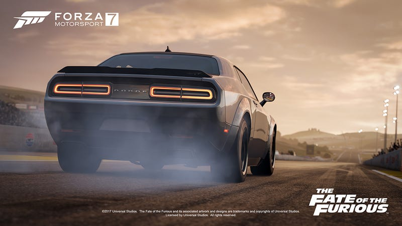Illustration for article titled I Can't Decide If I'll Buy This Fate Of The Furious Car Pack For Forza 7 (OK Fine I Probably Will)
