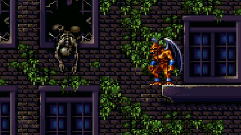 Screenshot: Demon's Crest