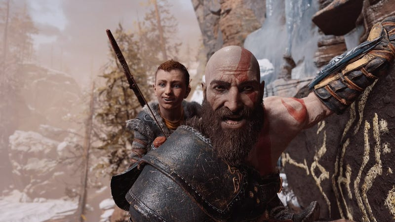 Illustration for article titled Players Are Using God of War's Photo Mode To Turn Kratos Into A Goofball