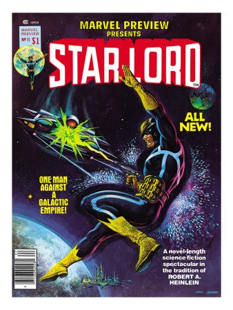 Illustration for article titled Robert Heinlein Once Sued Marvel Over Star-Lord