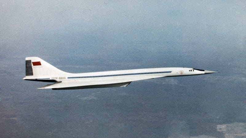 Illustration for article titled Here's What It Was Like To Fly On The Soviet Concorde