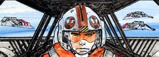 Illustration for article titled Every sci-fi fan should get this Star Wars Storyboards book