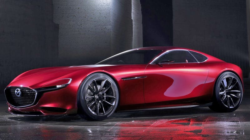 Illustration for article titled No Plans for a New Mazda RX Coupe or an Electric Sports Car