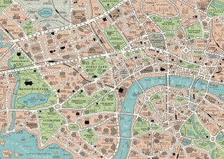 Illustration for article titled Here's What Victorian London Looks Like Invaded By 600 Book Worlds