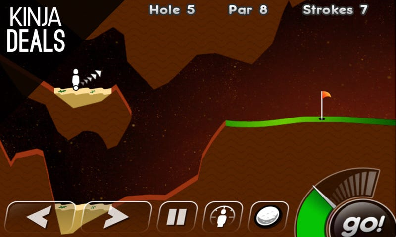 Illustration for article titled Today's Best App Deals: Super Stickman Golf, AmpliTube, and More