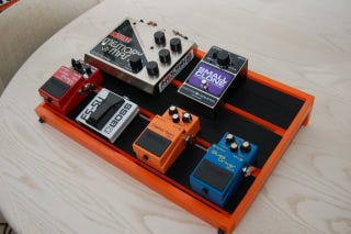 Illustration for article titled DIY Pedalboard With Some Help From IKEA