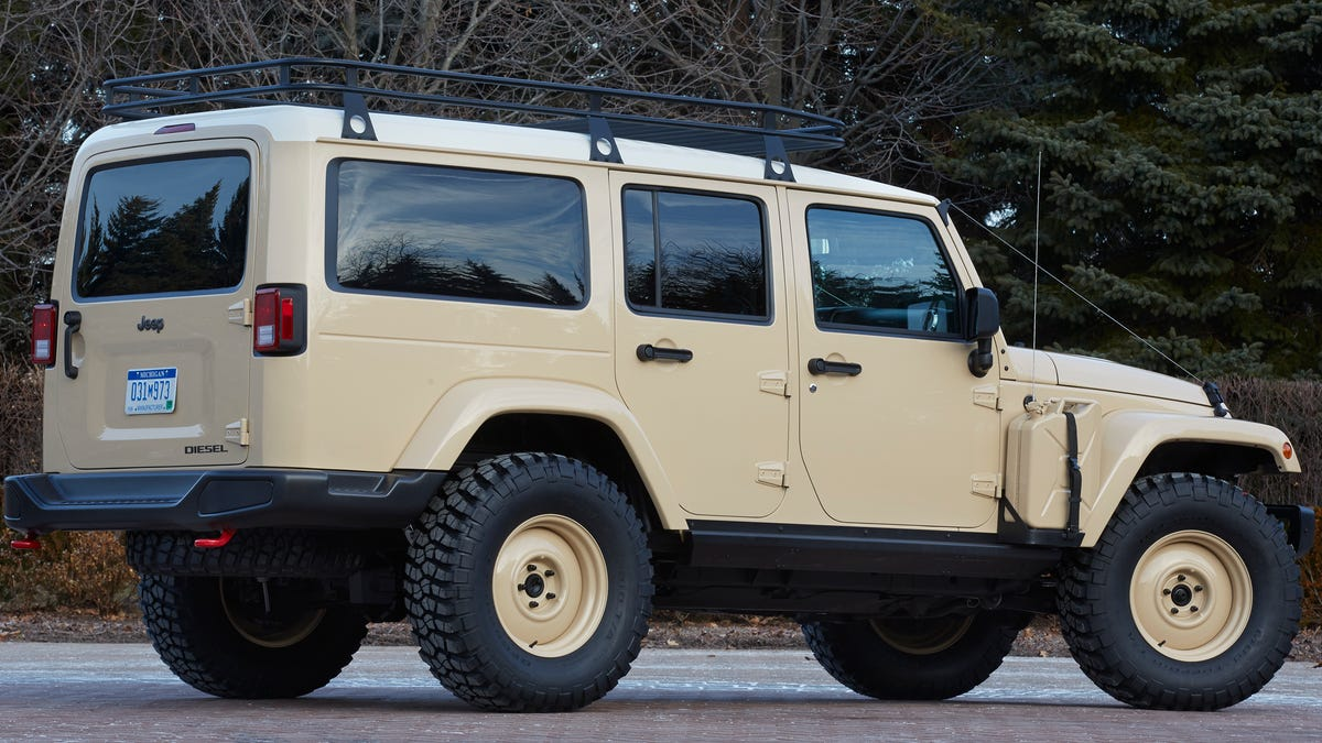 Jeep's Diesel Land Rover Knockoff Might Be Cooler Than A