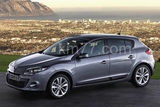 Illustration for article titled 2009 Renault Megane Photos Leaked