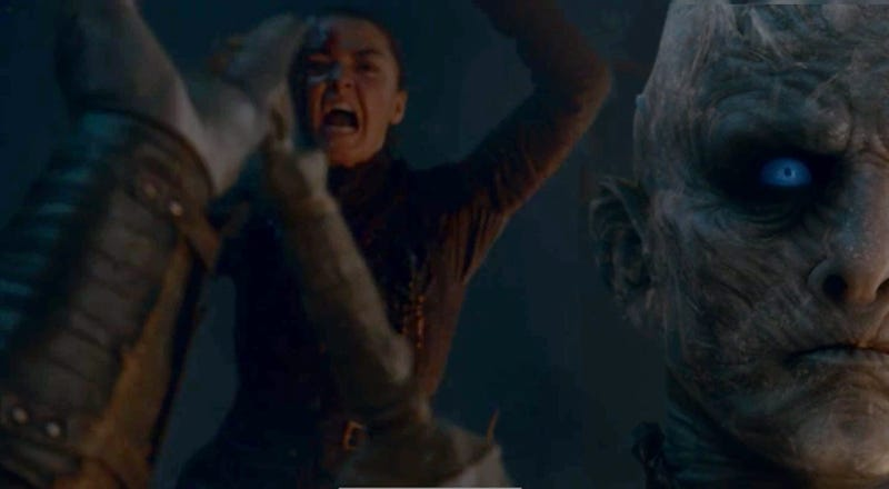 Image result for arya kills the night king