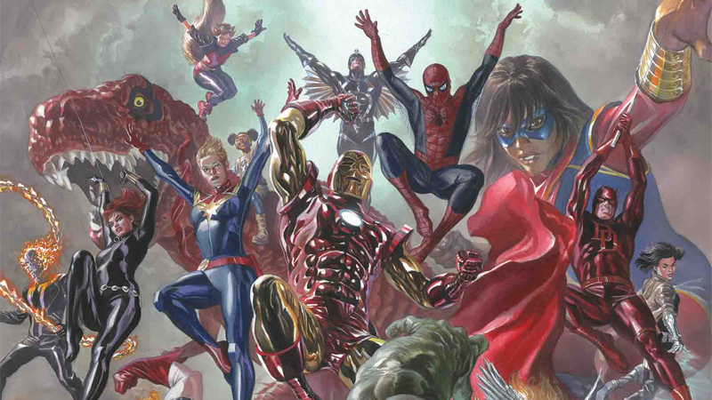 Image: Marvel Legacy #1 Variant Cover by Alex Ross
