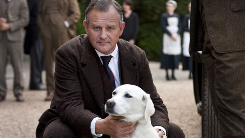 Illustration for article titled Downton Abbey may be forced to eradicate  Isis (the dog)