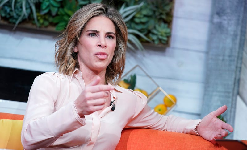 "Jillian Michaels visits BuzzFeed's ""AM To DM"" on Jan. 8, 2020, in New York City."
