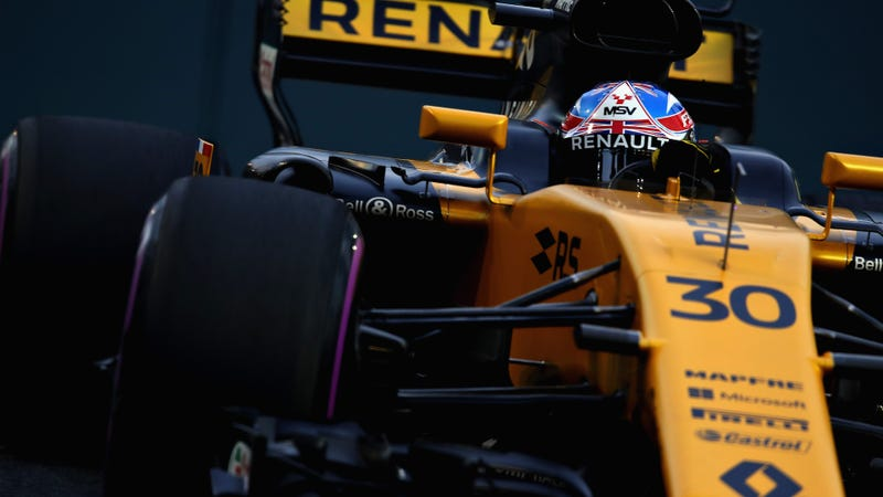 Jolyon Palmer at the Singapore Grand Prix. Photo credit: Clive Mason/Getty Images