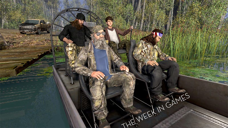 Illustration for article titled The Week In Games: What's Scarier, The Evil Within Or Duck Dynasty?