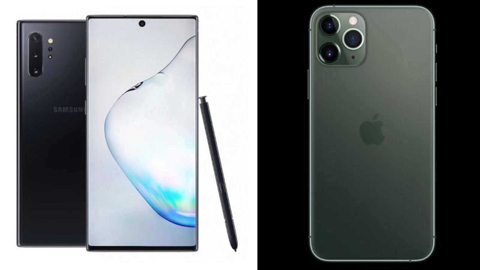 ¿Deberías comprar el iPhone 11 Pro de Apple o el Galaxy Note 10 de Samsung?