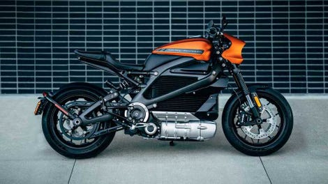 The 2019 Harley Davidson Livewire Is Far Too Expensive