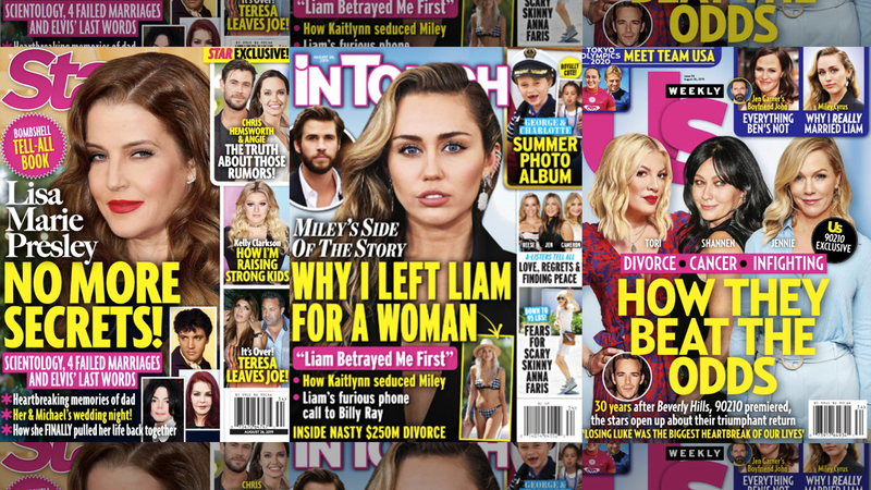 This Week In Tabloids: Marvel Co-Stars Angelina Jolie and Chris Hemsworth Are Definitely in Love