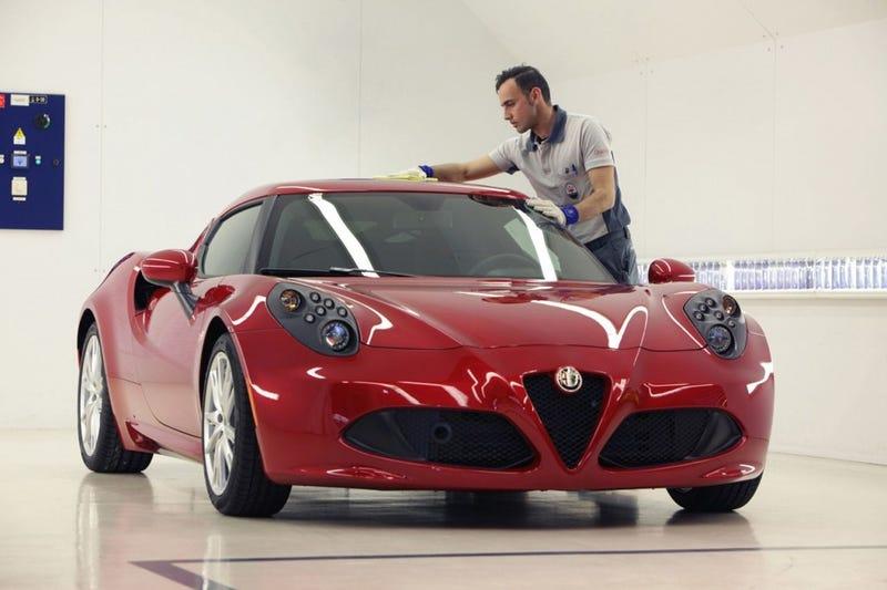 Illustration for article titled Alfa 4C or new Corvette?