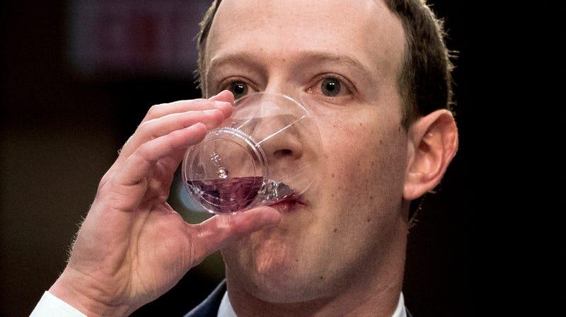 Illustration for article titled Is Mark Zuckerberg Wet or Dry?