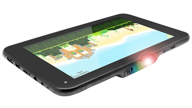 The World S First Tablet Projector Promises A 100 Inch Display
