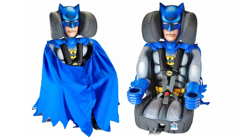 Illustration for article titled Your Child Will Never Be Safer In a Car Than In the Arms of Batman