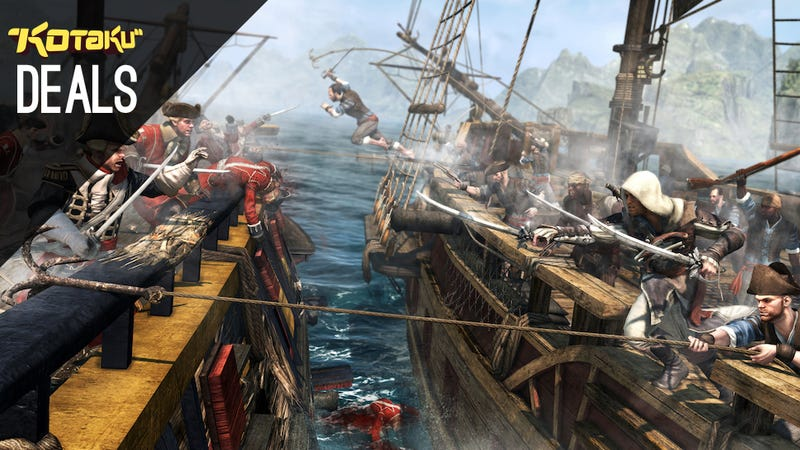 Illustration for article titled Assassin's Creed Black Flag $30, PS3 And Vita Holiday Bundles [Deals]