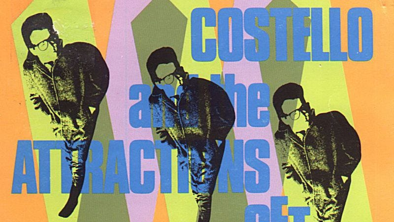 """Illustration for article titled With """"I Stand Accused,"""" Elvis Costello And The Attractions made a copy of a cover"""