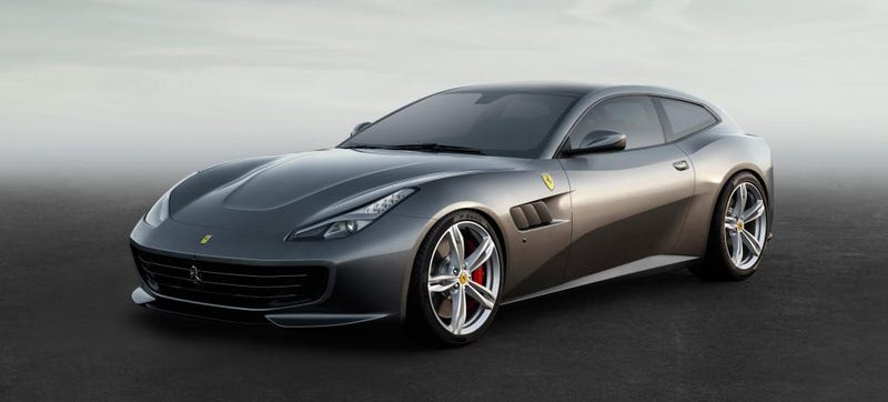 Illustration for article titled The 2017 Ferrari GTC4 Lusso Is Your Improved Ferrari FF