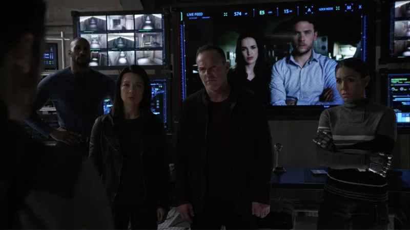 Team Coulson is back, baby!