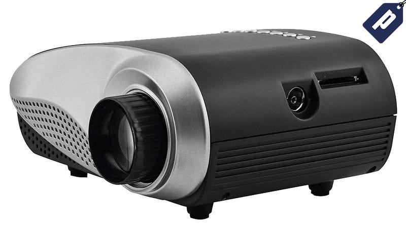Illustration for article titled Get the SainSonic Mini LED Portable Projector For Just $54.99