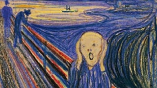 """Illustration for article titled Munch's """"The Scream"""" expected to fetch $80 million at auction"""