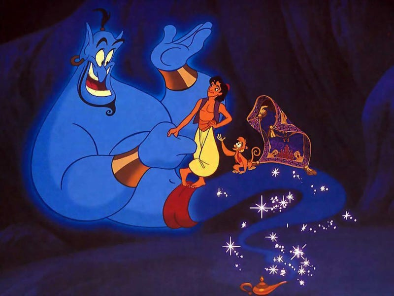Illustration for article titled Robin Williams' Will Prevents Disney From Using Old Aladdin Material in a New Film